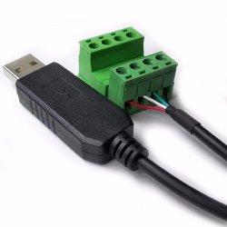 Unterstützt Win8 Win10 Android Mac CP2102 USB RS232 Serielles Kabel Mit Schrauben Blöcke