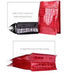 Soporte personalizado de cremallera, el café de la bolsa de embalaje de plástico con fondo plano, junta cuádruple Funda caja