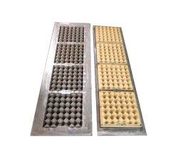 أدوات صينية البيض البلاستيكية/ البيض بالبيض بالبيض من الألومنيوم قوالب صندوقي لماكينة القوالب