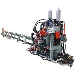 CNC-marking-, perforatie- en afschuifmachine voor hoeken, kanalen en platte stangen