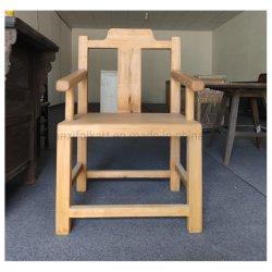 أثاث غرفة الطعام كرسي متين لتناول الطعام من خشب الصنوبر