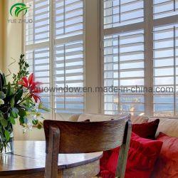 Водонепроницаемый металлического затвора Лувр Windows размер цена алюминиевые жалюзи окон