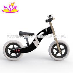 2020 최고 판매 아이 W16c293를 위한 소형 나무로 되는 까만 균형 자전거