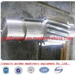 SAE4140は鋼鉄ギヤシャフトQ+Tを造った