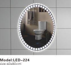 Своим модным дизайном конструкции на заводе поставщика индикатор Bluetooth ванная комната наружных зеркал заднего вида для макияжа