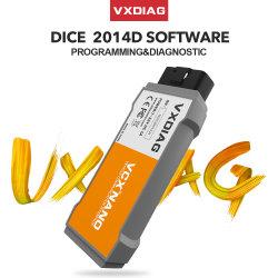 Contributo Nano di Vxdiag Vcx al programmatore di tasto dell'automobile di Volvo con la misura multilingue per lo scanner dei dadi 2014D di Volvo Vida