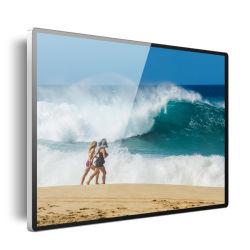 4K 스크린을%s 가진 새로운 도착 55inch 잘 고정된 인조 인간 광고 매체 텔레비젼 광고 선수 디지털 Signage 화면 표시 모니터 간이 건축물