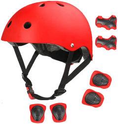 Factory Protective Gear Sports Safety 7PCS Knee/elleboogbeschermers voor kinderen pols Guard Helmet voor Roller Skate Football Sports