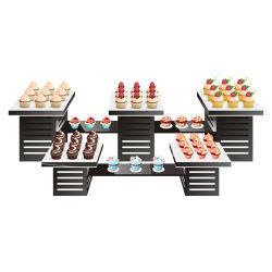 تزيين حفلات الزفاف Cake Dessert Display Cup متعدد الوظائف من كأس نبيذ الأكريليك المنظم