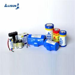 리튬 배터리 3.6V 1/2AA Er14250 1.2ah Lisun/OEM 브랜드 비충전식 스마트 미터용 배터리