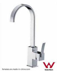 Marca de agua sanitarios 35 Ceramic-Cartridge cocina grifo de latón cromado (HD4111)
