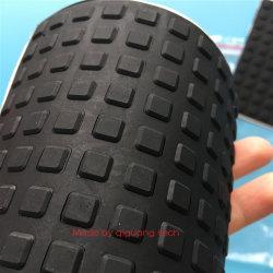 Quadratischer Würfel-selbstklebende Silikon-Gummi-Fuss-Auflagen 8X8X1.5mm