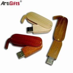 Custom de negocios de Madera de disco Flash USB para regalo promocional