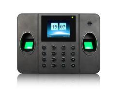 Multi sistema biometrico di presenza di tempo dell'impronta digitale con lo scanner doppio dell'impronta digitale