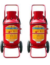 Carrinho ABC Pó de combate a incêndio equipamento extintor de incêndio