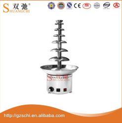 Heiße Verkaufs-Schokoladen-Brunnen-Maschine mit 7 Schichten