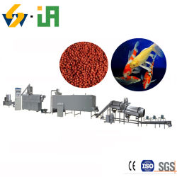 Les aliments pour poissons flottant granule de repas de poisson de la machine d'Extrusion presse à granulés granulé Machine d'alimentation