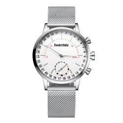 OEMの製造業Bluetooth遠隔Pedemeterは写真に携帯電話の腕時計のSmartwatchの手首をスマートな腕時計取る