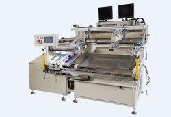 HY-D58 recto verso suppression de la poussière de l'écran automatique Machine d'impression Étiquette de papier de transfert de l'emballage machines d'imprimante de l'écran de soie