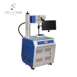 De UVLaser die van Focuslaser 3W 5W 10W Machine voor het Plastiek van het Metaal van het Kristal van het Glas merkt