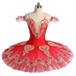 Les femmes filles personnalisés Performance professionnelle Porter du rouge le Ballet Tutu Costumes