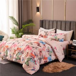 L'Arabia Saudita 4PCS di vendita caldo ha impostato il Comforter stabilito di 6 PCS impostato con il lenzuolo e la federa