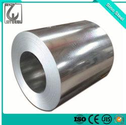 El primer cruce de acero con recubrimiento de zinc caliente Gi bobinas de acero galvanizado fabricantes