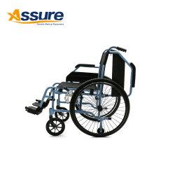 China-Aluminiumlegierung-Leichtgewichtler-nicht elektrischer faltbarer manueller Rollstuhl