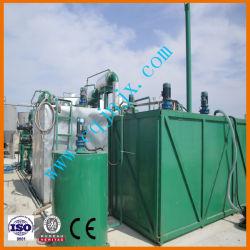 Les déchets noir purificateur d'huile de lubrification à huile de base