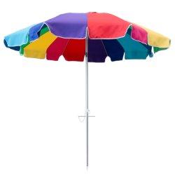 ombrello di spiaggia esterno di alluminio rotondo di 8FT