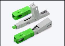 Conector rápido sc rápida del conector de fibra óptica de equipo de fibra óptica