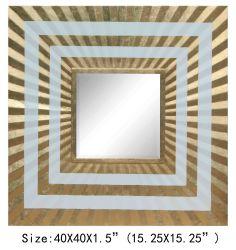 Goldfolien-Spiegel-grosse Größen-Wand-Kunst-dekorativer Spiegel