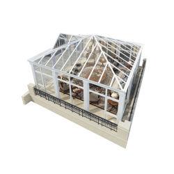 Het correcte Dubbel van het Bewijs verglaasde het Aangepaste Huis van het Glas van het Aluminium van de Grootte