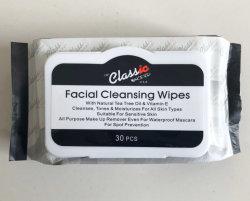 Lingettes de nettoyage du visage pour tous peau