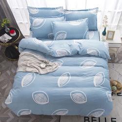 100 % пуховым одеялом из микрофибры, 70-120GSM пользовательских печатных ткань из микроволокна покрывалами и кровати для взрослых,