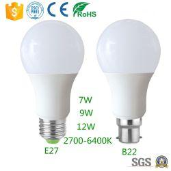 Ce meilleur vendeur RoHS approuvé Ampoule de LED 7W 9W 12 W offre directe en usine