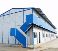 La lumière préfabriqué Structure en acier temporaire House (KXD-pH128)