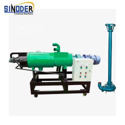 Séparateur de liquide à haute efficacité solide du fumier animal assèchement presse à vis de fruits de la machine La machine