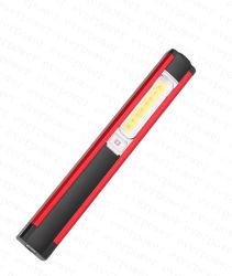 Конструкция пера початков USB Pocket светодиодный фонарь рабочего освещения с магнитом Clip