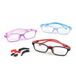 Mango Anti Azul Kids Estrutura óculos de Silicone Óptico