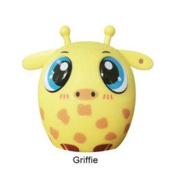 크리스마스 승진 선물 소형 스피커를 위한 귀여운 휴대용 Griffie 무선 애완 동물 동물 Bluetooth 스피커