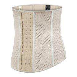 Látex 100% 9 Corsé deshuesada de acero de 30cm de cintura órgano formador de formadores para la Mujer Deportes equipos de gimnasia