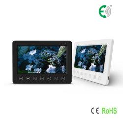 4-draads 7-inch CVBS Video door-telefoon Interphone