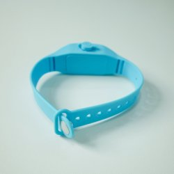 Hand Sanitizer Dispenser를 위한 음료 Silicone Bracelet Wristband