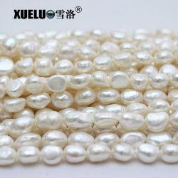 12-13mm AAAの品質の大きく白いナゲットのバロック式の自然な培養された淡水の真珠ストリング(XL190024)