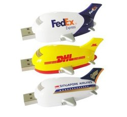 Lecteur Flash USB de la forme d'avion de la nouveauté du style