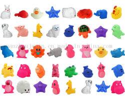 OEM diversas Piscina bañera de animales de juguete de plástico flotantes