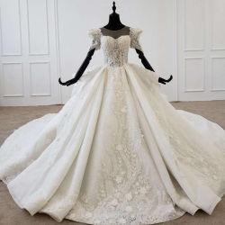 صور حقيقية الكرة العروس هريس هريس لاس الأميرة العروس اللباس 2021 Z2008
