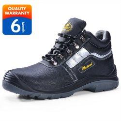 La moda de marca de calzado mujer Botas de cuero Deportes trabajo Calzado de seguridad
