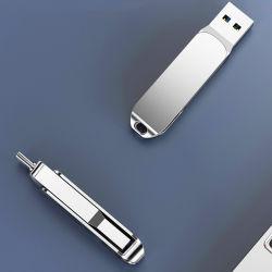 4 в 1 Поворотный поверните диск USB OTG мобильного телефона
